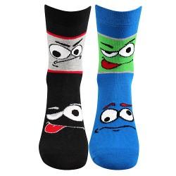 Ponožky Tlamik - mix A - pro chlapce - 2 páry - Boma