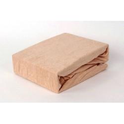 Prémiové froté prostěradlo - béžové - BedStyle