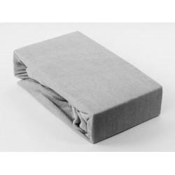 Prémiové froté prostěradlo - šedé - BedStyle