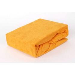 Prémiové froté prostěradlo - zlaté - BedStyle
