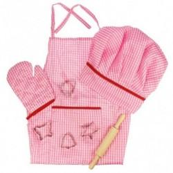 Růžový set pro šéfkuchařky - Bigjigs Toys