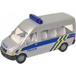 Kovové autíčko Policie - český design - 9,5 cm