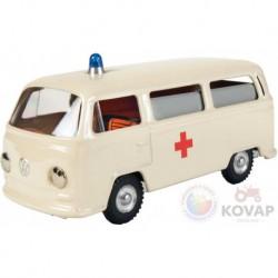 Plechové autíčko Volkswagen - sanitka