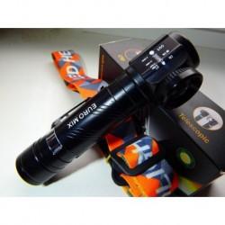 Nabíjecí svítilna USA-5000 W - se zoomem a magnetem - nabíjení na USB - Euromix