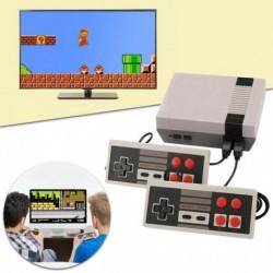 TV retro herní konzole s napájením na USB kabel - 620 her