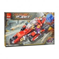 Dětská stavebnice 0642 - 350 dílků - Future Police - RED Pioneer - Peizhi