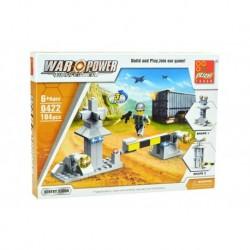 Dětská stavebnice 0422 - 104 dílků - War Power - Strážní hlídka - Peizhi
