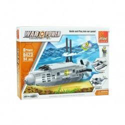 Dětská stavebnice 0423 - 94 dílků - War Power - Nukleární ponorka - Peizhi