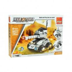 Dětská stavebnice 0427 - 106 dílků - War Power - Tank - Peizhi