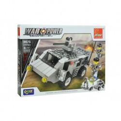 Dětská stavebnice 0675 - 222 dílků - War Power - Obrněné vozidlo - Peizhi