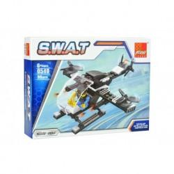 Dětská stavebnice 0540 - 96 dílků - S.W.A.T - Vyprošťovací vrtulník - Peizhi