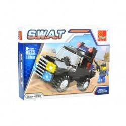 Dětská stavebnice 0543 - 100 dílků - S.W.A.T - Obrněné vozidlo - Peizhi