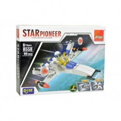 Dětská stavebnice 0558 - 99 dílků - STAR Pioneer - Peizhi