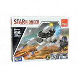Dětská stavebnice 0560 - 103 dílků - STAR Pioneer - Peizhi