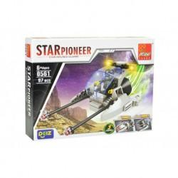 Dětská stavebnice 0561 - 97 dílků - STAR Pioneer - Peizhi