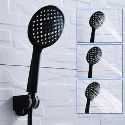 Úsporná designová sprchová hlavice - černá