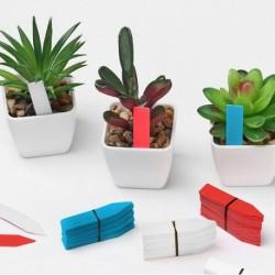 Popisovací štítky k rostlinám - modré - 100 ks