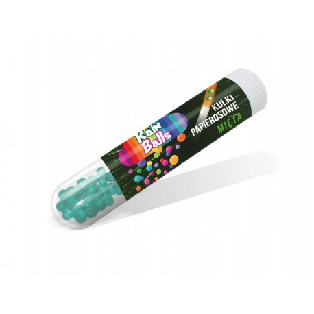 Praskací kuličky RainBalls - Máta +- 21 ks