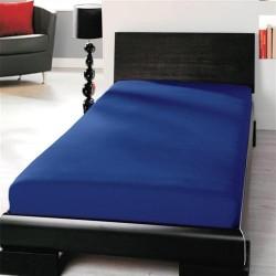 Prémiové jersey prostěradlo - modré - BedStyle