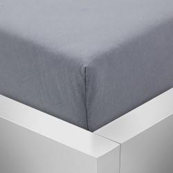 Prémiové jersey prostěradlo - tmavě šedé - BedStyle