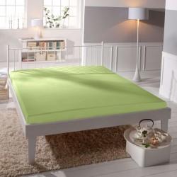 Jersey prostěradlo - lycra DeLuxe - světle zelené - BedStyle