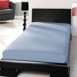 Jersey prostěradlo - lycra DeLuxe - světle modré - BedStyle