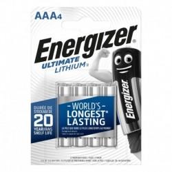 Mikrotužkové baterie Ultimate Lithium - 4x AAA - Energizer