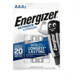 Mikrotužkové baterie Ultimate Lithium - 2x AAA - Energizer