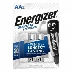 Tužkové baterie Ultimate Lithium - 2x AA - Energizer