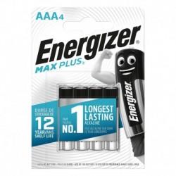Mikrotužkové baterie MAX Plus - 4x AAA - Energizer