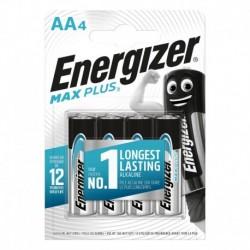 Tužkové baterie MAX Plus - 4x AA - Energizer