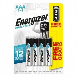 Mikrotužkové baterie MAX Plus - 4x AAA - 3+1 zdarma - Energizer