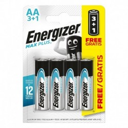 Tužkové baterie MAX Plus - 4x AA - 3+1 zdarma - Energizer