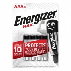 Mikrotužkové baterie MAX - 4x AAA - Energizer