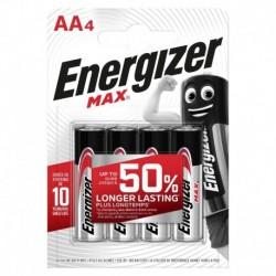 Tužkové baterie MAX - 4x AA - Energizer