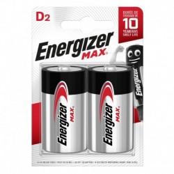 Velký monočlánek MAX Plus - 2x D - Energizer