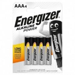 Mikrotužkové baterie Alkaline Power - 4x AAA - Energizer