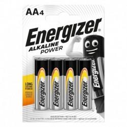 Tužkové baterie Alkaline Power - 4x AA - Energizer