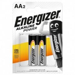 Tužkové baterie Alkaline Power - 2x AA - Energizer