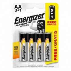 Tužkové baterie Alkaline Power - 4x AA - 3+1 zdarma - Energizer