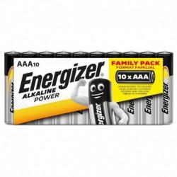 Mikrotužkové baterie Alkaline Power - 10x AAA - family pack - Energizer
