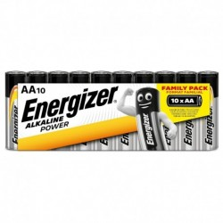 Tužkové baterie Alkaline Power - 10x AA - family pack - Energizer