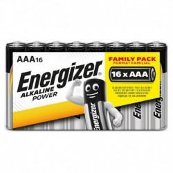 Mikrotužkové baterie Alkaline Power - 16x AAA - family pack - Energizer