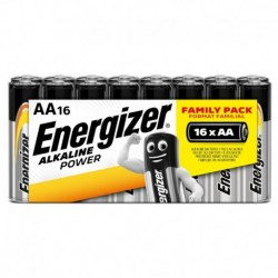 Tužkové baterie Alkaline Power - 16x AA - family pack - Energizer