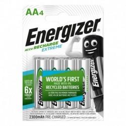 Nabíjecí tužkové baterie EXTREME - 4x AA - 2300 mAh - Energizer