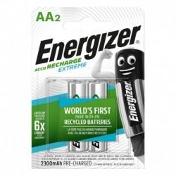 Nabíjecí tužkové baterie EXTREME DUO - 2x AA - 2300 mAh - Energizer