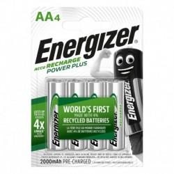 Nabíjecí tužkové baterie POWER PLUS - 4x AA - 2000 mAh - Energizer