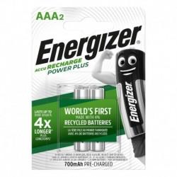 Nabíjecí mikrotužkové baterie POWER PLUS DUO - 2x AAA - 700 mAh - Energizer