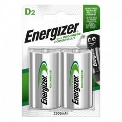 Nabíjecí malý monočlánek POWER PLUS DUO - 2x D - 2500 mAh - Energizer