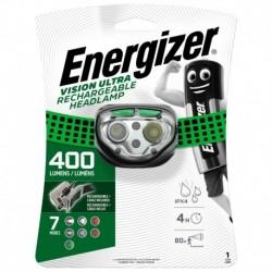 Čelová nabíjecí svítilna - Headlight Vision Rechargeable - 400 lm - Energizer